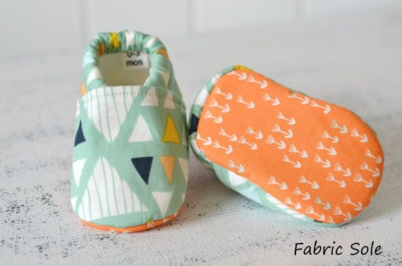 Mojave triangle baby shoes wee little by TheWeeLittlePiggies