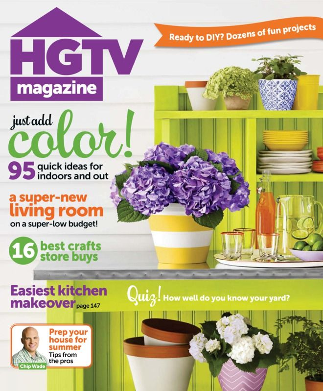 Hgtv Magazine One Of My Faves So Many Good Ideas