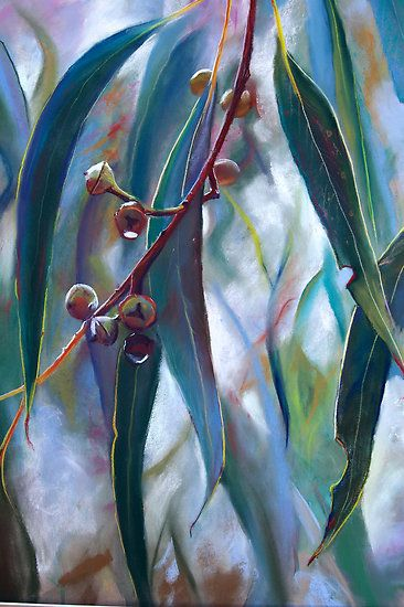 """Regeneration 1"" pastel drawing by Lynda Robinson"