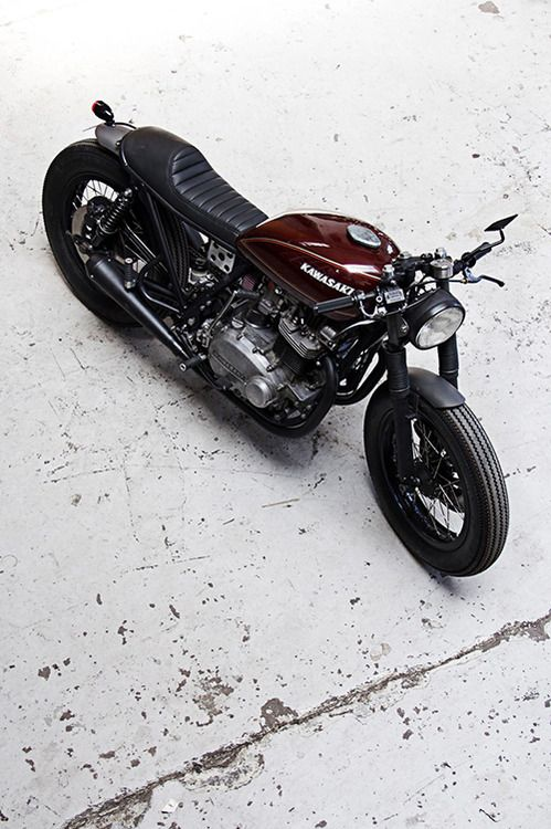 Kawasaki | More here: http://mylusciouslife.com/stylish-home-luxury-garage-design/