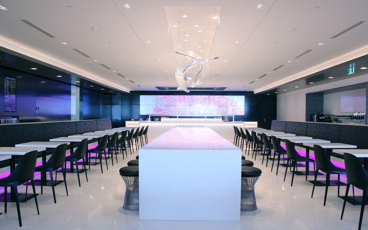 Air New Zealand's flagship Auckland lounge #HospitalityDesign #HospitalityDesignMagazine #hdmag #trends #airport #lounges