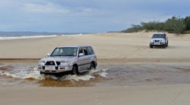 Have you ever camped on Bribie Island? We have all the latest track conditions...