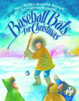 When a bush pilot brings Christmas trees to the Inuit community in Repulse Bay, the children, who have never seen trees use them to make baseball bats. Gr. K-3