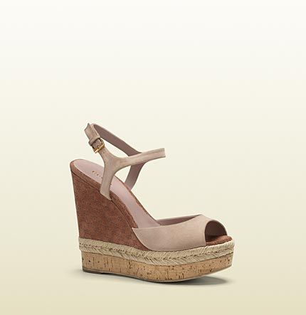 Gucci - hollie open toe wedge 310307C20006812