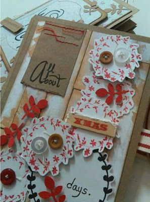 All About Christmas Days Scrapbook.