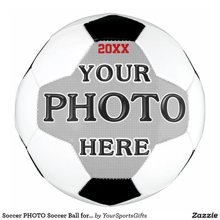 Personalized Soccer PHOTO Soccer Ball Gifts for Soccer Coaches and Gifts for Soccer Players CLICK: https://www.zazzle.com/z/3n2q8 Fantastic soccer team gifts for boys and girls or soccer senior night gifts with your photo and text. You can add more text or delete it. Personalised football balls with your football team picture ideas / personalized soccer balls are great gifts for soccer coaches and gifts for assistant soccer coaches.
