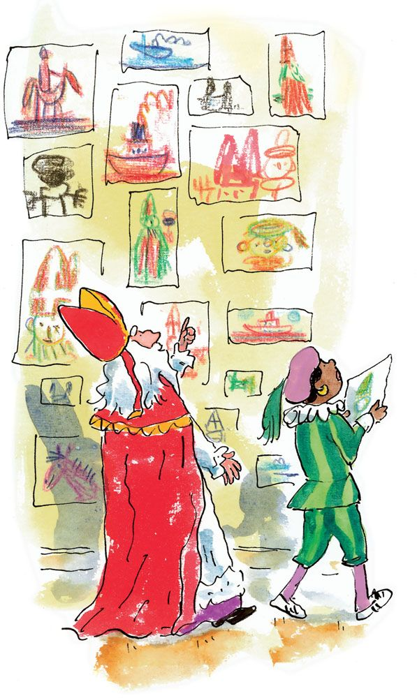 Boek : Alles wat je wil weten over Sinterklaas, kleuren