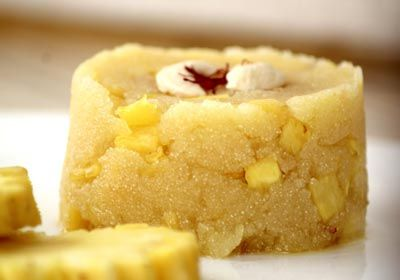 I'm putting my friend Manasi in the spotlight for this post, which features a version of her Pineapple Halwa recipe, also known as sheera.