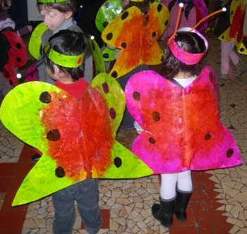 déguisement de papillon école maternelle