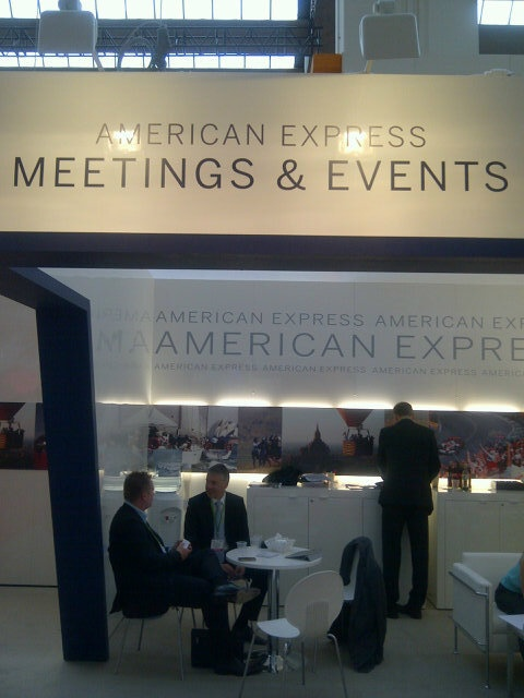 Our actual booth at IMEX Frankfurt, 1 out of 2 pictures :-)