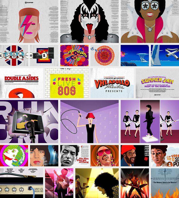 VH1 Classic Identity - Jens Gehlhaar Creative Director