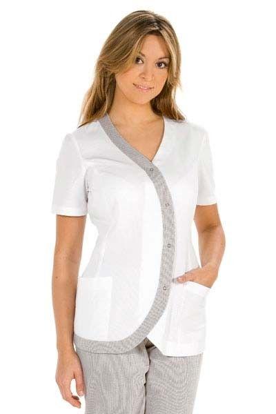 25 melhores ideias de uniformes de odontologia no for Spa uniform canada