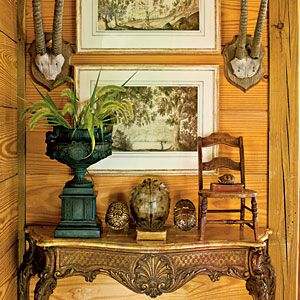 Walls of Wood | Classic Farmhouse Decorating - Southern Living