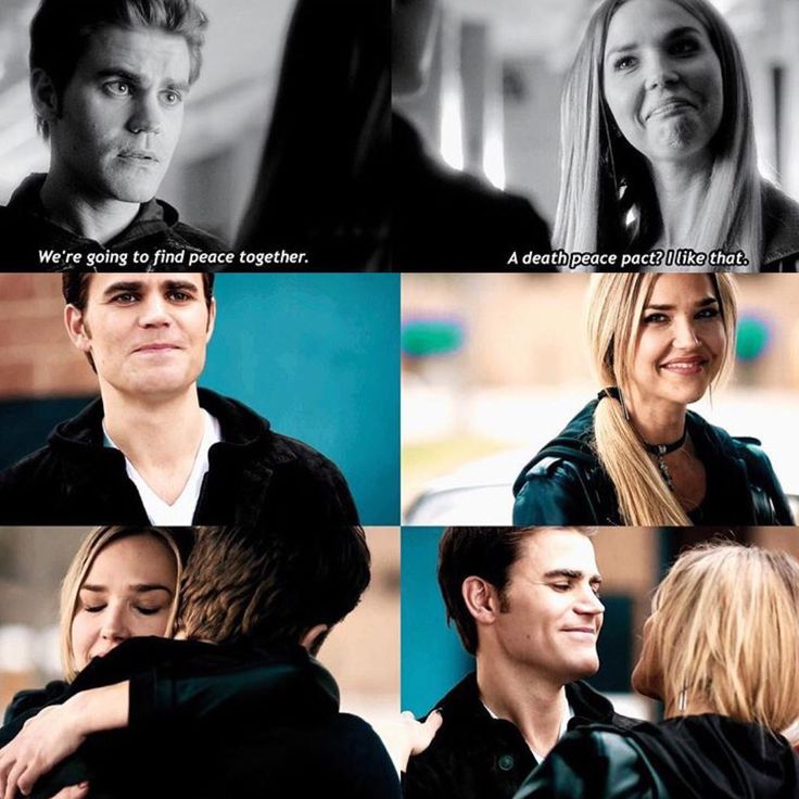 LEXI AND STEFAN FOUND PEACE TOGTHER!!! #TOOCUTE #TVDFOREVER