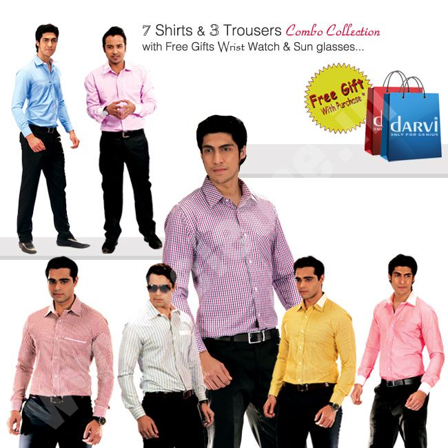 Buy Darvi Executive Combo Collection Online From Teleshop. #men #mensfashion…