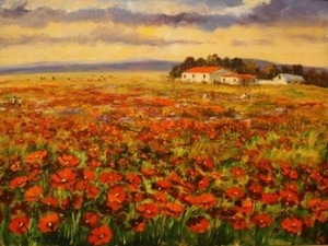 """""""Field of daisies"""""""