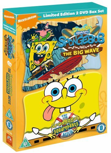 Spongebob Squarepants - Big Wave and Movie [Import anglais] @ niftywarehouse.com #NiftyWarehouse #Spongebob #SpongebobSquarepants #Cartoon #TV #Show