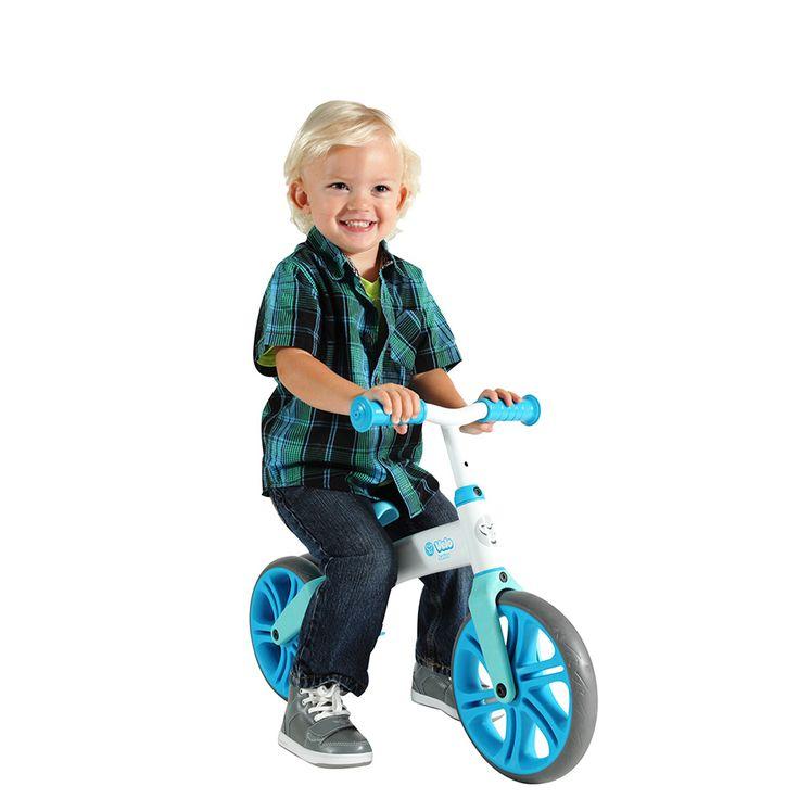 Y Volution Velo Junior Balance Bike - Blue   Toys R Us Australia