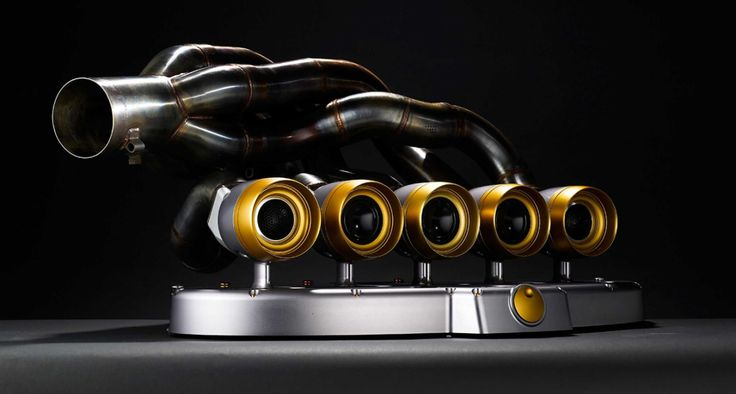This Company Turns Formula 1 Exhausts Into Speakers. Works of art with a purpose.