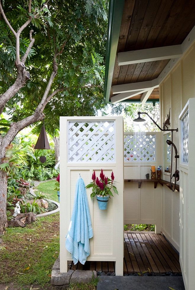 Outdoor shower. Outdoor shower Dimensions. Outdoor shower dimension ideas. Outdoor shower measures roughly 6 feet x 5 feet. #Outdoorshower #Outdoorshowerdimensions Barker Kappelle Construction, LLC