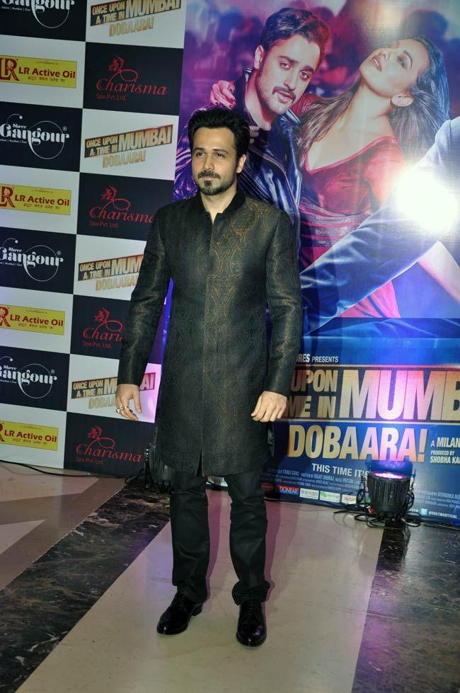 Emraan Hashmi at Ekta Kapoor's Iftar bash. #Bollywood #Fashion