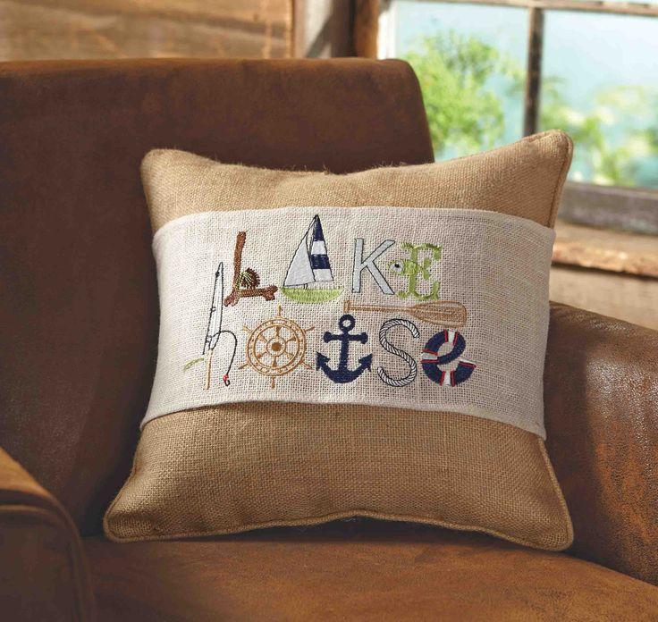 Lake House Pillow Wraps Lakes Wraps And House
