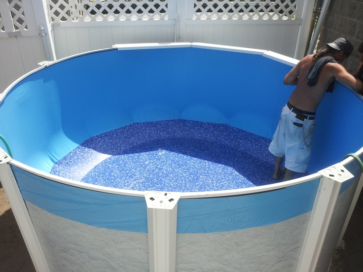 118 best images about above ground pools on pinterest for 9 ft garden pool