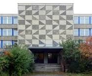 Image result for geometric exterior murals