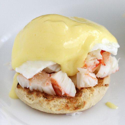 King Crab Eggs Benedict #breakfast #seafood