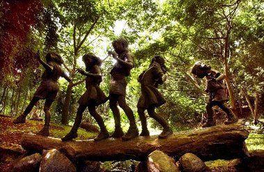 garden statues children - Google Search