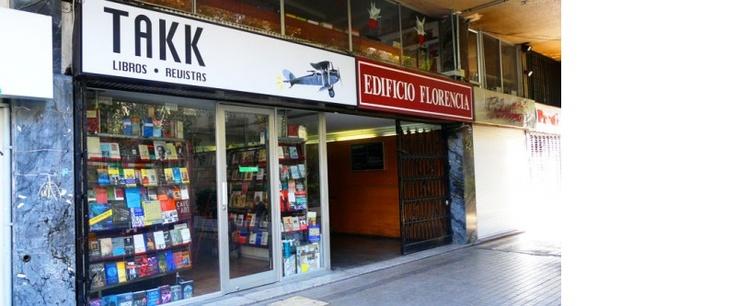 Takk, libros y revistas.  Andrés de Fuenzalida 18 , Providencia, Santiago de Chile  +56 2 2336321 http://www.takk.cl