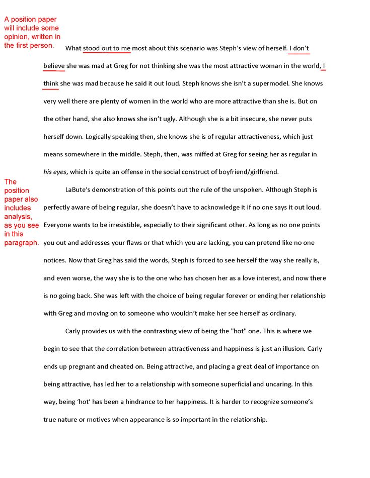 Essay about musical theatre