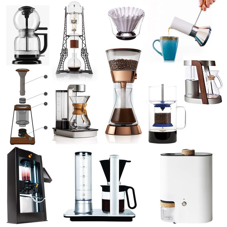 """12 OF THE BEST IN COFFEE BREWING TECHNOLOGY"""