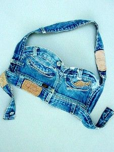 COUTURE VINTAGE DENIM BUSTIER review | buy, shop with friends, sale | Kaboodle
