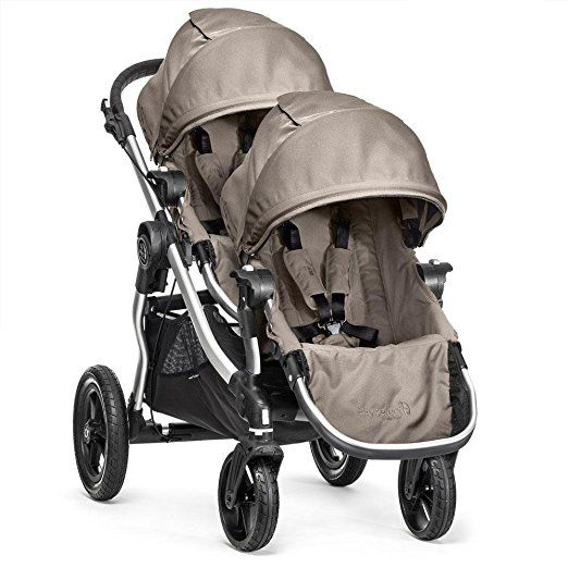Amazon.com : Baby Jogger 2016 City Select Double Stroller with 2nd Seat, Onyx : Baby