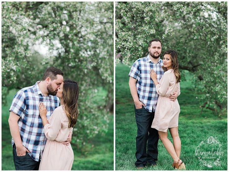 Leah & Michael Engagement | Loose Park Engagement Photos | KC Photographers | Marissa Cribbs Photography | KC Wedding Photographers_0808.jpg