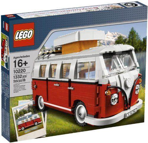 LEGO Creator Volkswagen T1 Camper Van 10220 LEGO http://smile.amazon.com/dp/B0050R0XEG/ref=cm_sw_r_pi_dp_Wb1hub0639H07