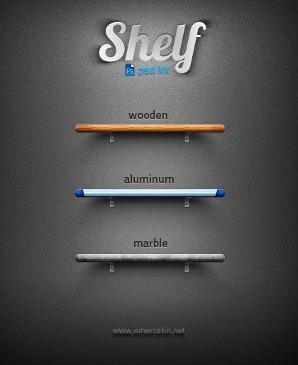 Free and useful PSD files for web designer