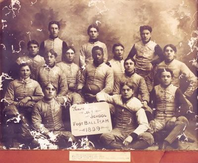 Charles W. Follis was the first African American to receive pay as a professional football player. He was born on February 3, 1879, in Cloverdale, Virginia. In 1901, he enrolled at the College of Wooster. Follis played football for a local amateur club, and in 1902, he began playing football for the Shelby Blues, a professional team in Shelby, Ohio.