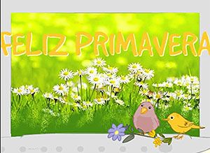 Tarjetas gratis de Feliz Primavera | Correomagico | Mágicas postales animadas…