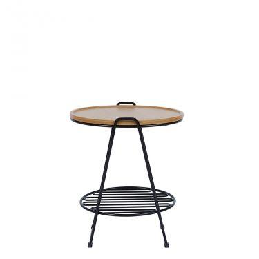 FINN € 129,00 #sconto 50% #tavolino disegnato dal #designer londinese Oliver Hrubiak. Struttura in acciaio con #ripiano inferiore porta #riviste e top rimovibile in #legno di frassino. In #offerta su #chairsoutlet, #compralo adesso su www.chairsoutlet.com