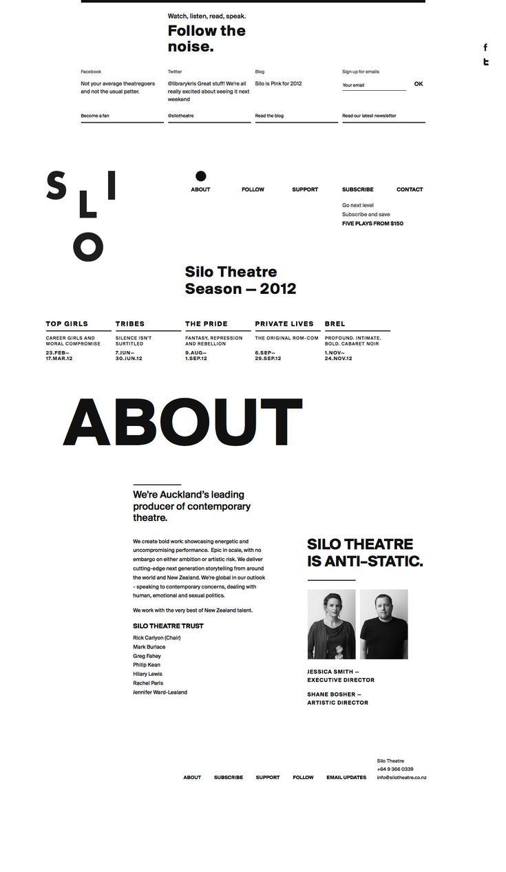 Silo Theatre - About