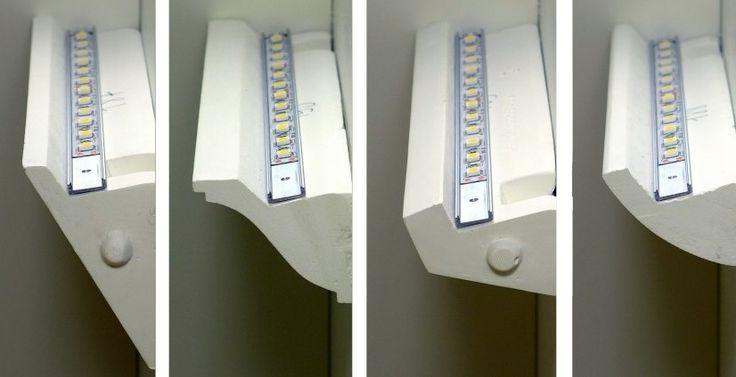 LED Plaster Cornice Uplight - Cale