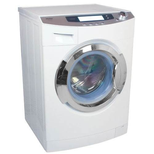Amazing deal on this space-saving appliance that is a must for tight spaces!  HWD1600BW - Haier 1.8 Cu. Ft. Ventless Front Load Combo Washer Dryer - White