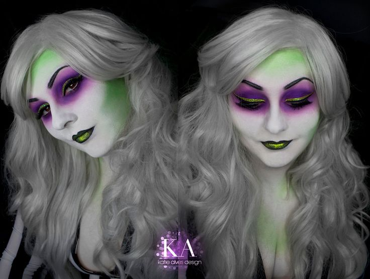 Lady Beetlejuice Makeup (with Tutorial) by KatieAlves.deviantart.com on @DeviantArt