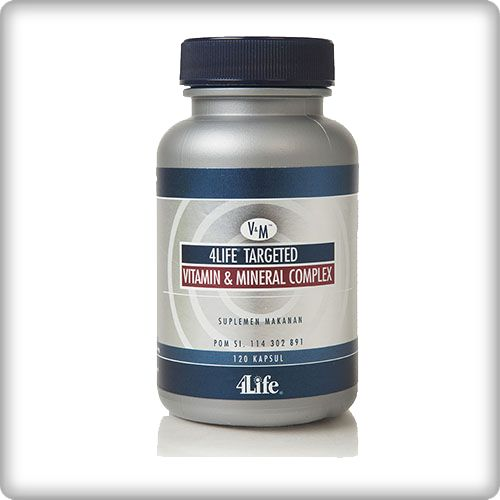 4Life Vitamin dan Mineral Komplek