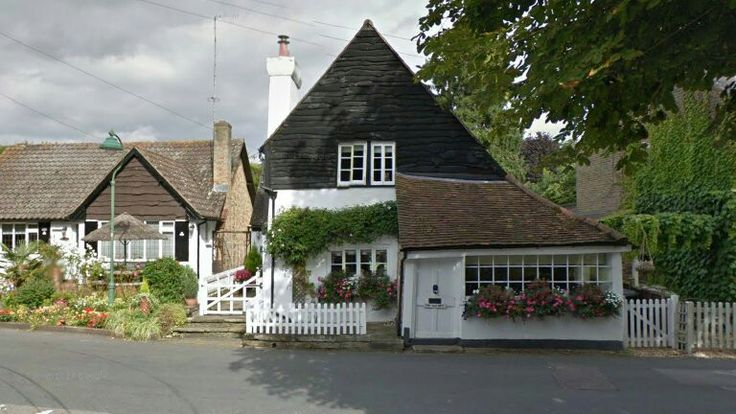 House in Letchmore Heath which featured as the local general store in 'Village of the Damned' (1960)