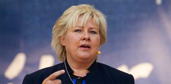 Norwegian PM: Not natural to accept these migrants into Europe - The flow of migrants is so large that the Mediterranean countries have asked the rest of Europe for help. But Norwegian PM, Erna Solberg says that Norway will not accept any of them.