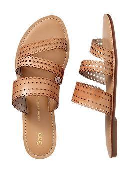 summer sandal at $39.95 #gap