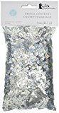 Darice VL84 Happily Ever After Bridal Confetti 4-Ounce Silver  Darice VL84 Happily Confetti 4-Ounce  Expires Jan 13 2018